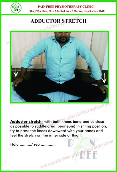 Adductor Stretch Exercises