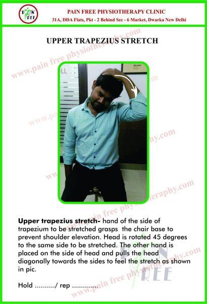 Upper Trapezius Stretch